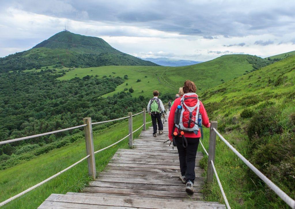 Découvrir les volcans d'Auvergne