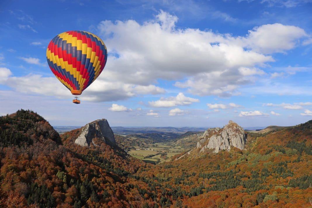 Montgolfière : une autre façon de découvrir la région d'Auvergne